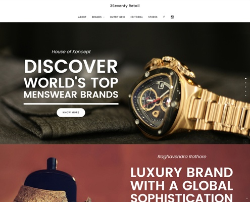 web design development - 3seventy retail