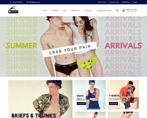 shopping website development