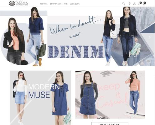 ecommerce web design & developement tarama